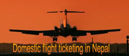 Domestic flight ticketing in Nepal